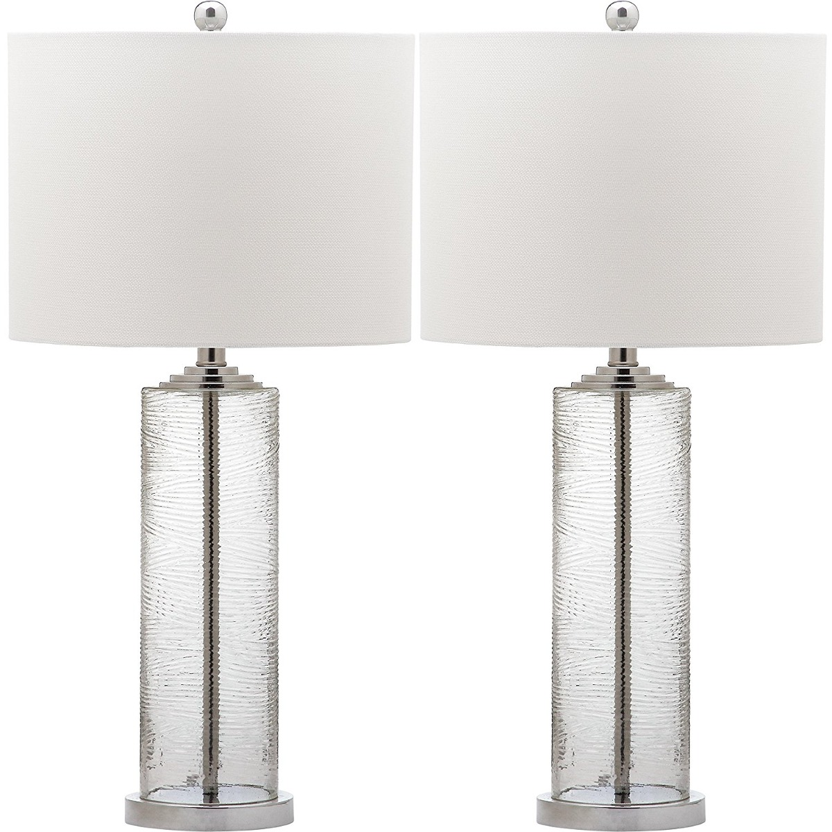 Safavieh lighting collection grant clear 29 inch table lamp clear 29 inch table lamp cargando zoom aloadofball Gallery