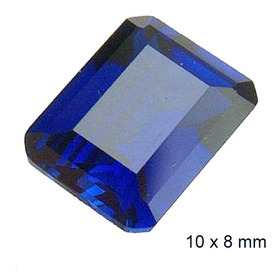 Safira Pedra Preciosa Safira Azul 3071b