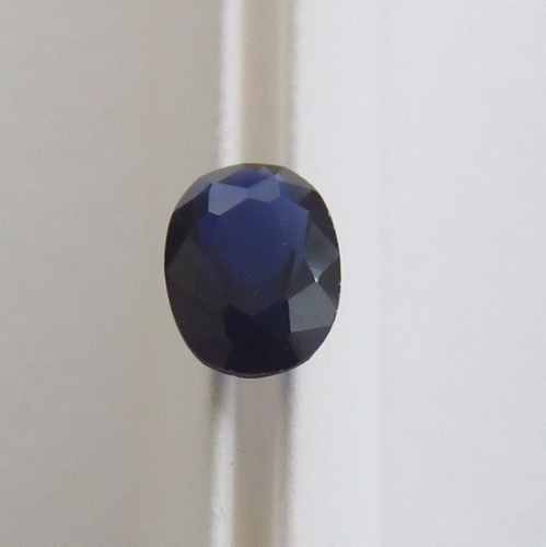 safira pedra preciosa safira azul oval 7x5 mm 3065