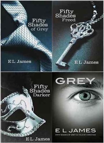 Saga 50 Sombras De Grey- E.l James (4 Lbros) - $ 150.000 en Mercado ...