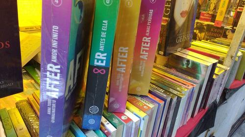 saga after los 5 libros 0,1,2,3,4 originales + regalo