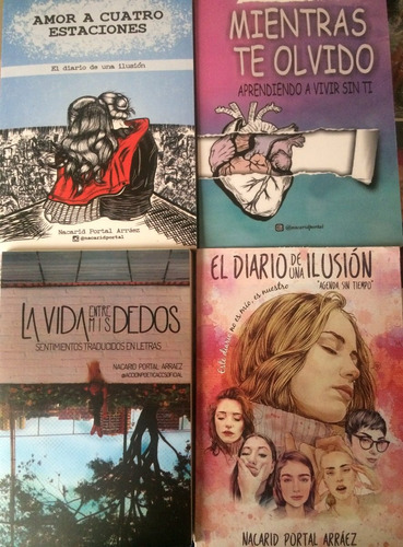 Saga Amor A Cuatro Estaciones X 4 Libros Suced - $ 74.900