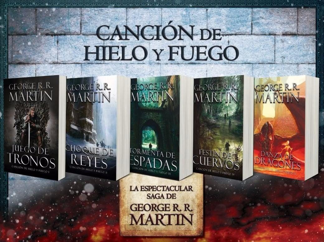 Saga Canción De Hielo Y Fuego / Juego De Tronos - Libro Pdf - S/ 15 ...