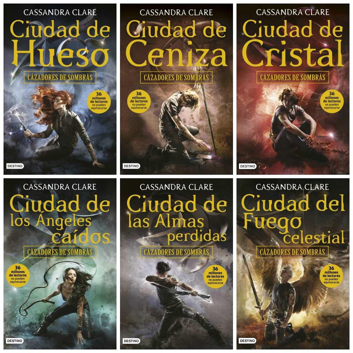 Saga Cazadores De Sombras 26 Libros Colecci U00f3n Digital Pdf