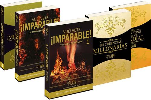 saga como ser millonario (5 libros) - lain garcía calvo