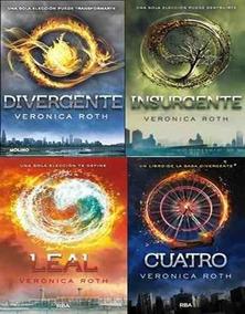 656ee050c8 Saga Divergente Libro - Libros de Literatura en Mercado Libre México