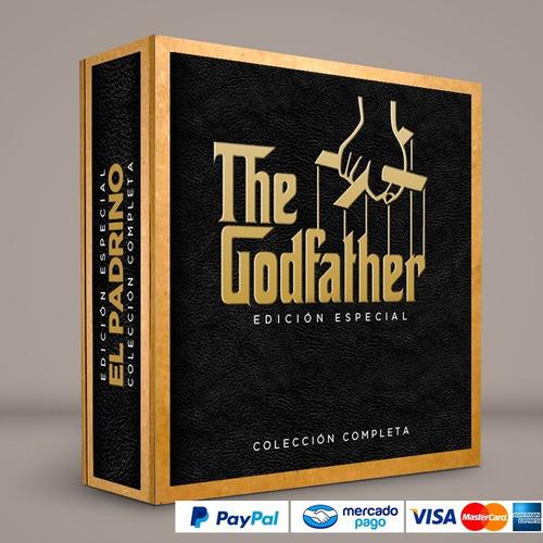 saga completa el padrino dvd