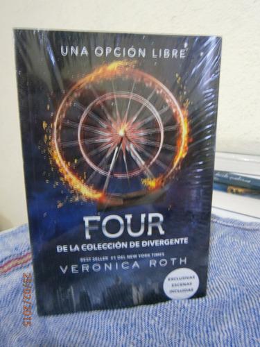 saga de divergente - 4 libros envío gratis
