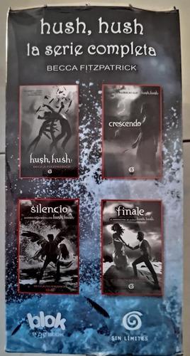 saga de hush hush - hush hush, crescendo, silencio, finale