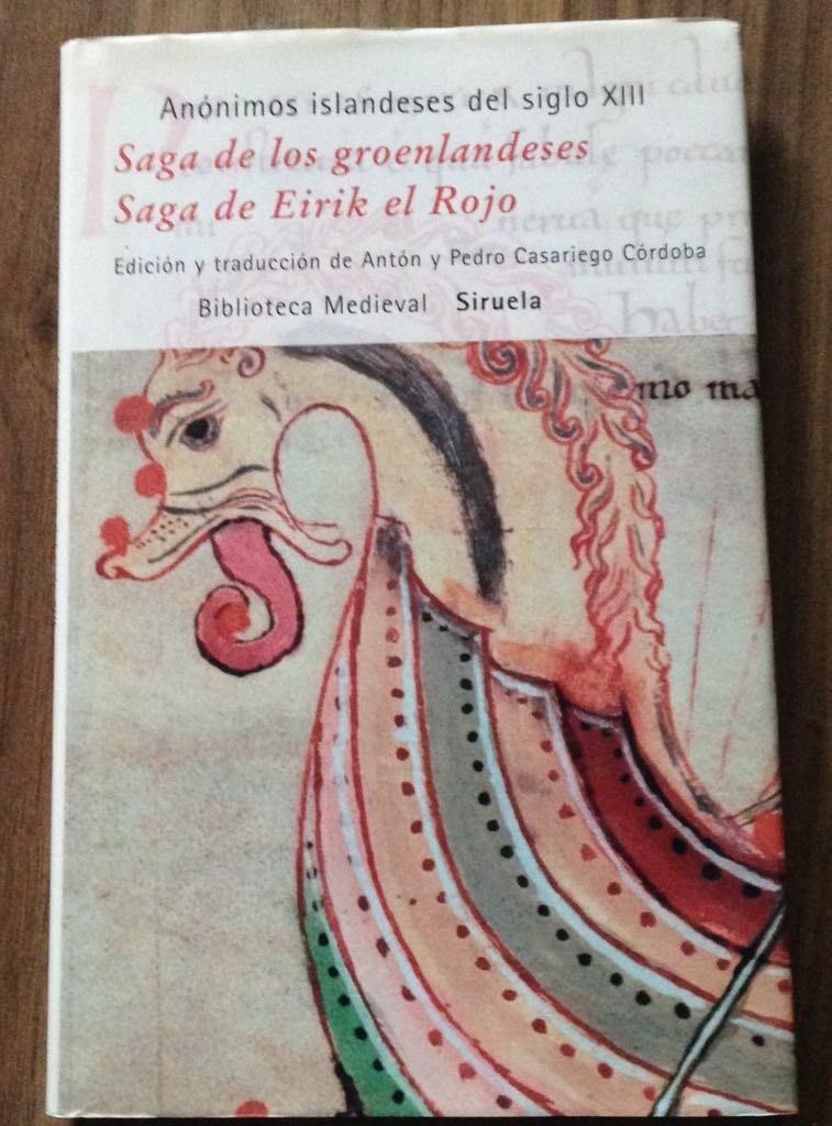 saga de los groenlandeses saga de eirik el rojo biblioteca medieval