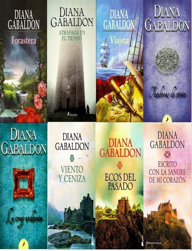 La Saga Forastera De Diana Gabaldon Ilusionesblog