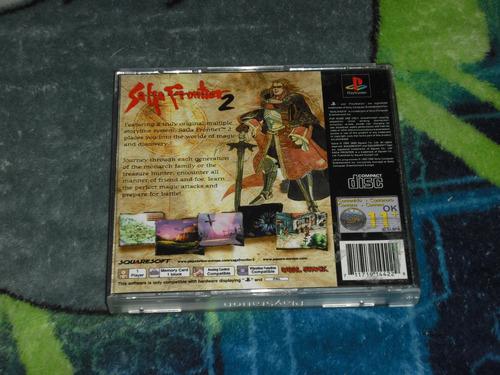saga frontier 2 version pal excelente estado ps1,no final