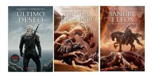 saga geralt de rivia / witcher - libros 1, 2 y 3 - sapkowski