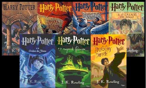 saga harry potter 7 livros novos frete gratis
