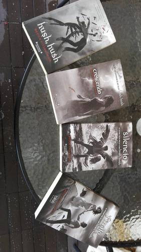 saga  hash hash - set de 4 libros= 1