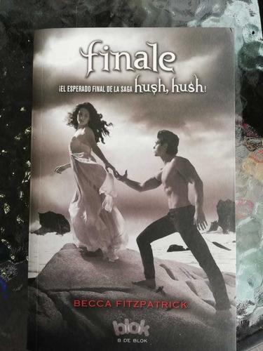 saga  hush hush - set de 4 libros= 1