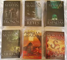 Saga Juego De Tronos 6 Libros Originales