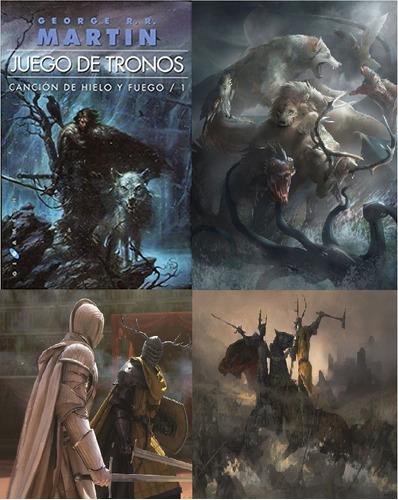 saga juego de tronos george martin 17 libros