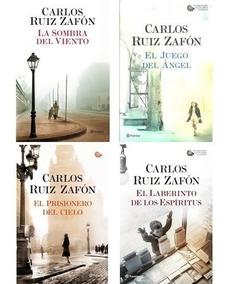 Saga La Sombra Del Viento (4 Libros) - Carlos Ruiz Zafón