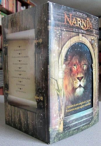 saga las crónicas de narnia 7 tomos - c s lewis / destino