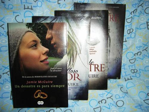 saga maravilloso desastre jamie mcguire 4 libros oferta