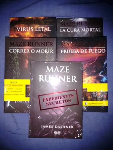 saga maze runner 4 libros envio gratis