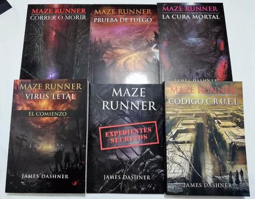 saga maze runner correr o morir james dashner 6 libros ofert