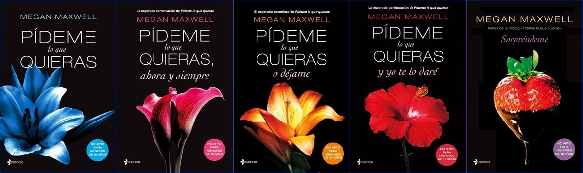 Saga Pideme Lo Que Quieras Megan Maxwell E-pub Pdf - Bs. 2 ...
