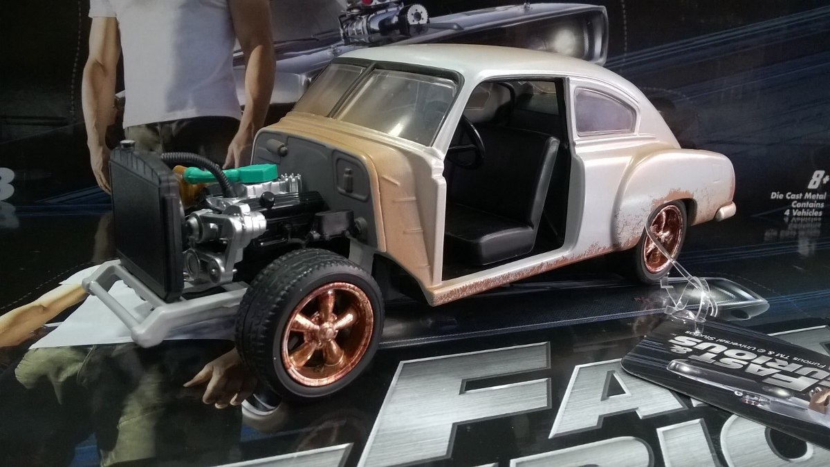 Saga Rapido Y Furioso 8 Autos A Escala 1 24 Marca Jada 77 000 En