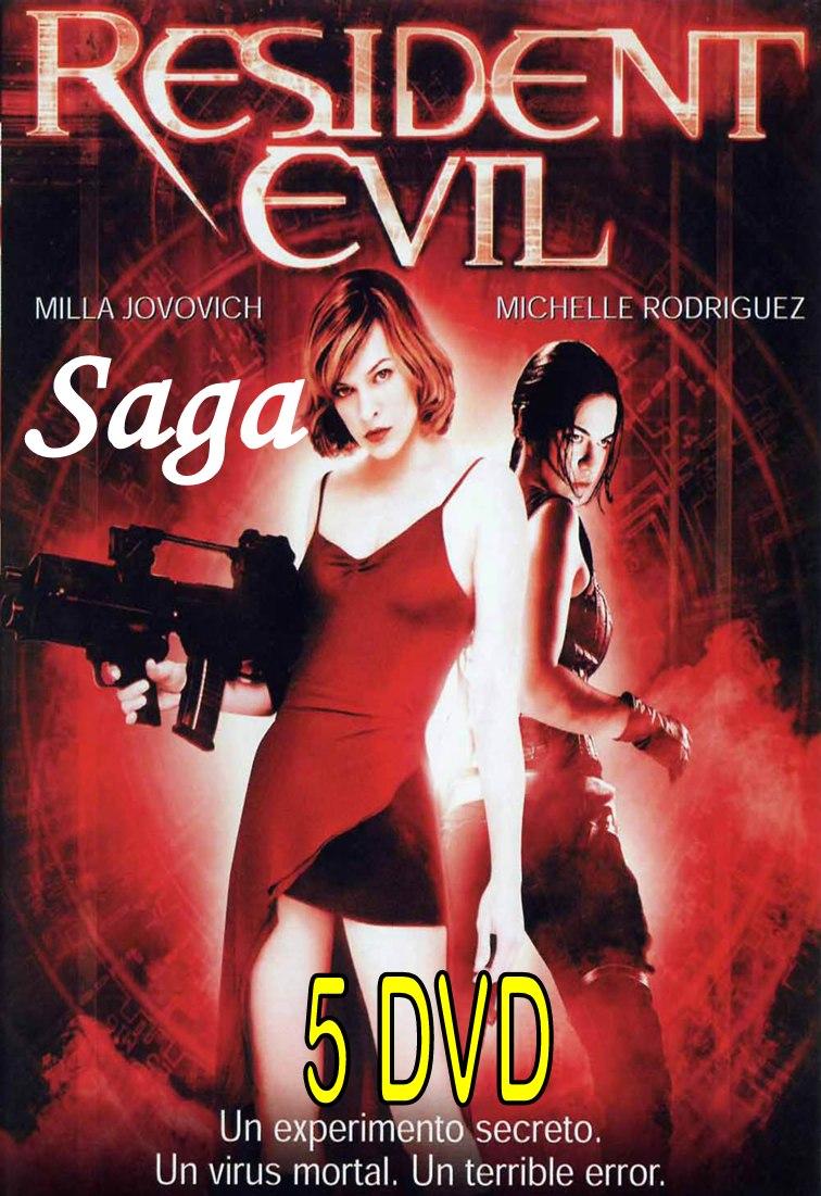 Saga Resident Evil Completa Formato Original - Bs. 1,00 en Mercado Libre