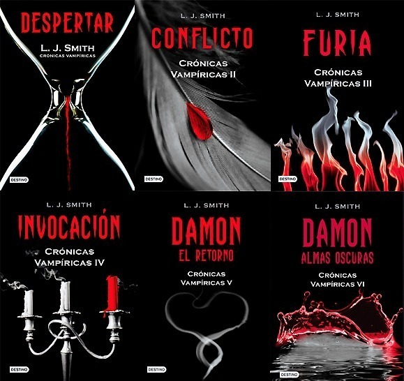 libros cronicas vampiricas lisa jane smith