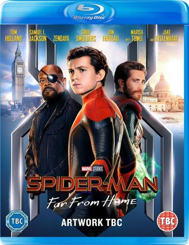 saga vengadores bluray - incluye spiderman far from home