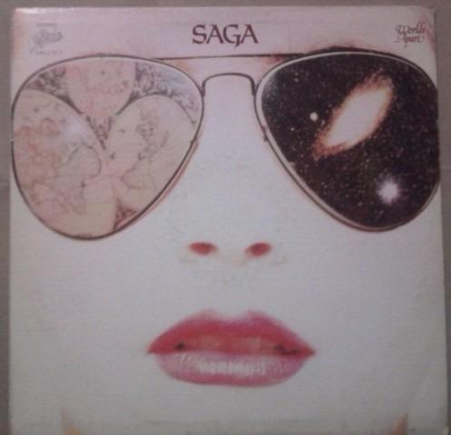 saga, worlds apart, lp. con  insert,1981,  nacional