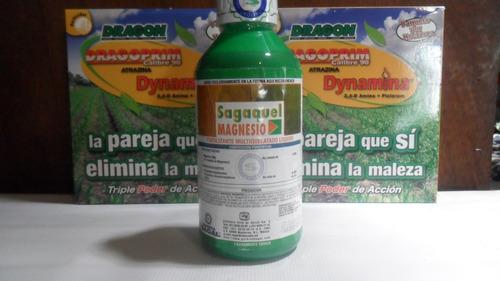 sagaquel magnesio fertilizante foliar de uso agricola 1lt
