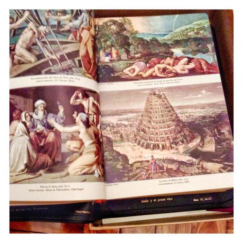 sagrada biblia edición de lujo nueva.