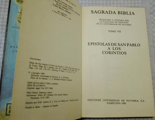 sagrada biblia, epístolas de san pablo a los corintios