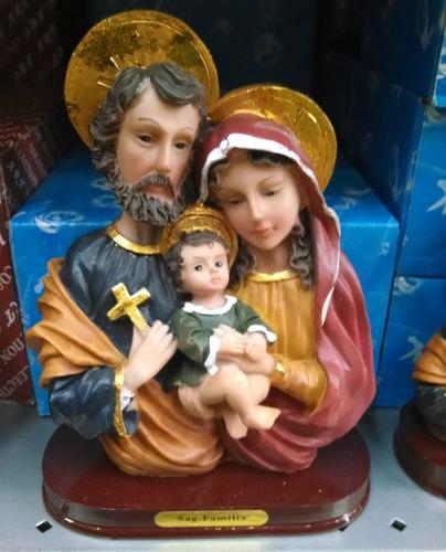 sagrada família em resina 20 cm