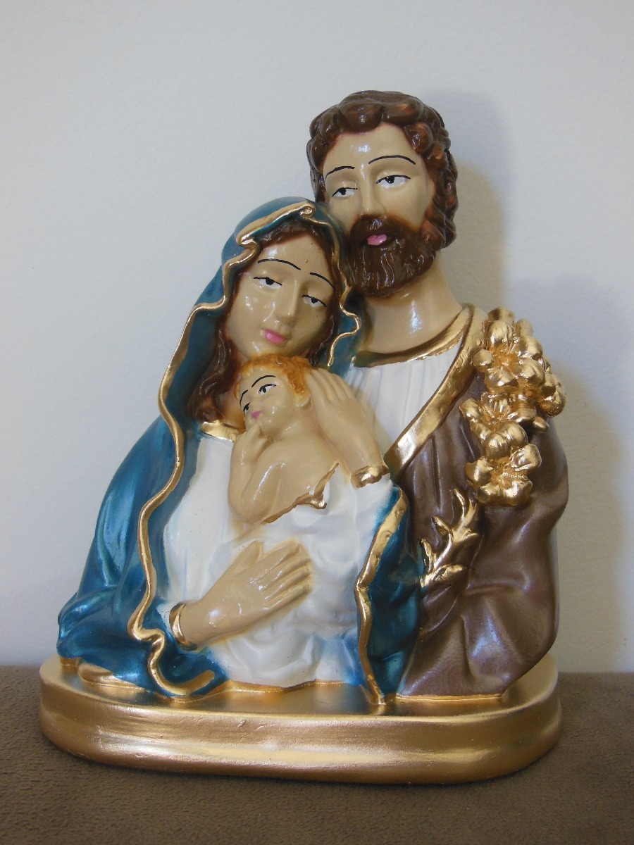 c0d66abe8 Sagrada Família Manto Azul - 20 Cm - R  35