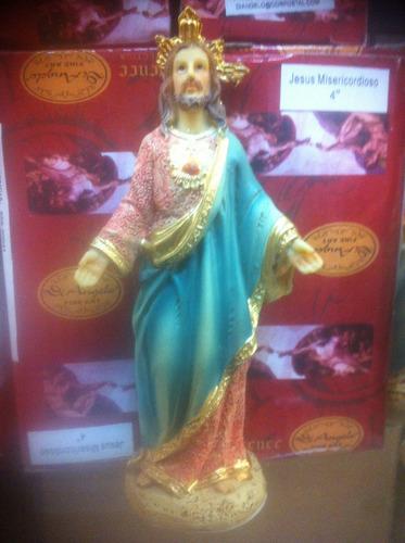 sagrado  coração de jesus - imagem  com  12 cm
