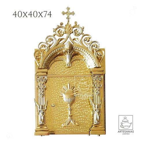 sagrario o tabernaculo de bronce grande católico tradicional