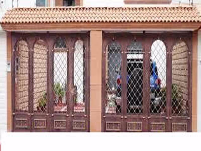 Saguanes de herreria 2 en mercado libre for Remate de puertas de madera