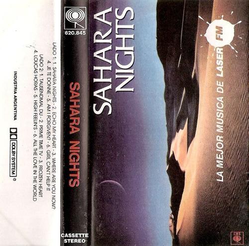 sahara nights - interpretes varios  - casette