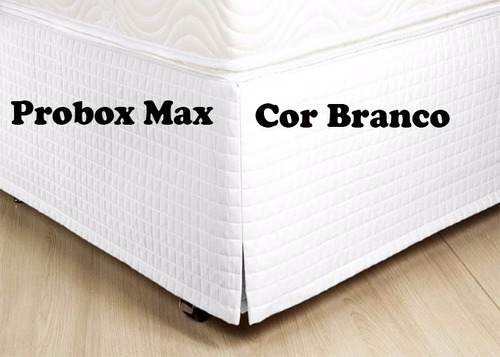 saia box max casal king poliéster 1 peça