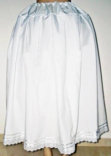 saia branca em oxford - umbanda e candomblé