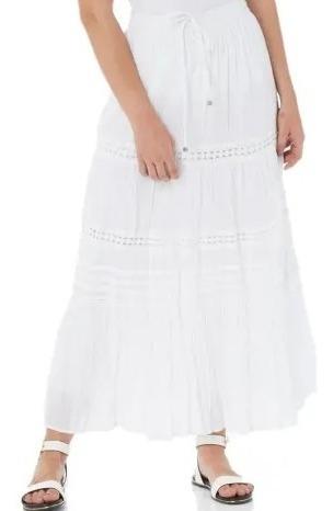 saia branca longa,  casual style indiana