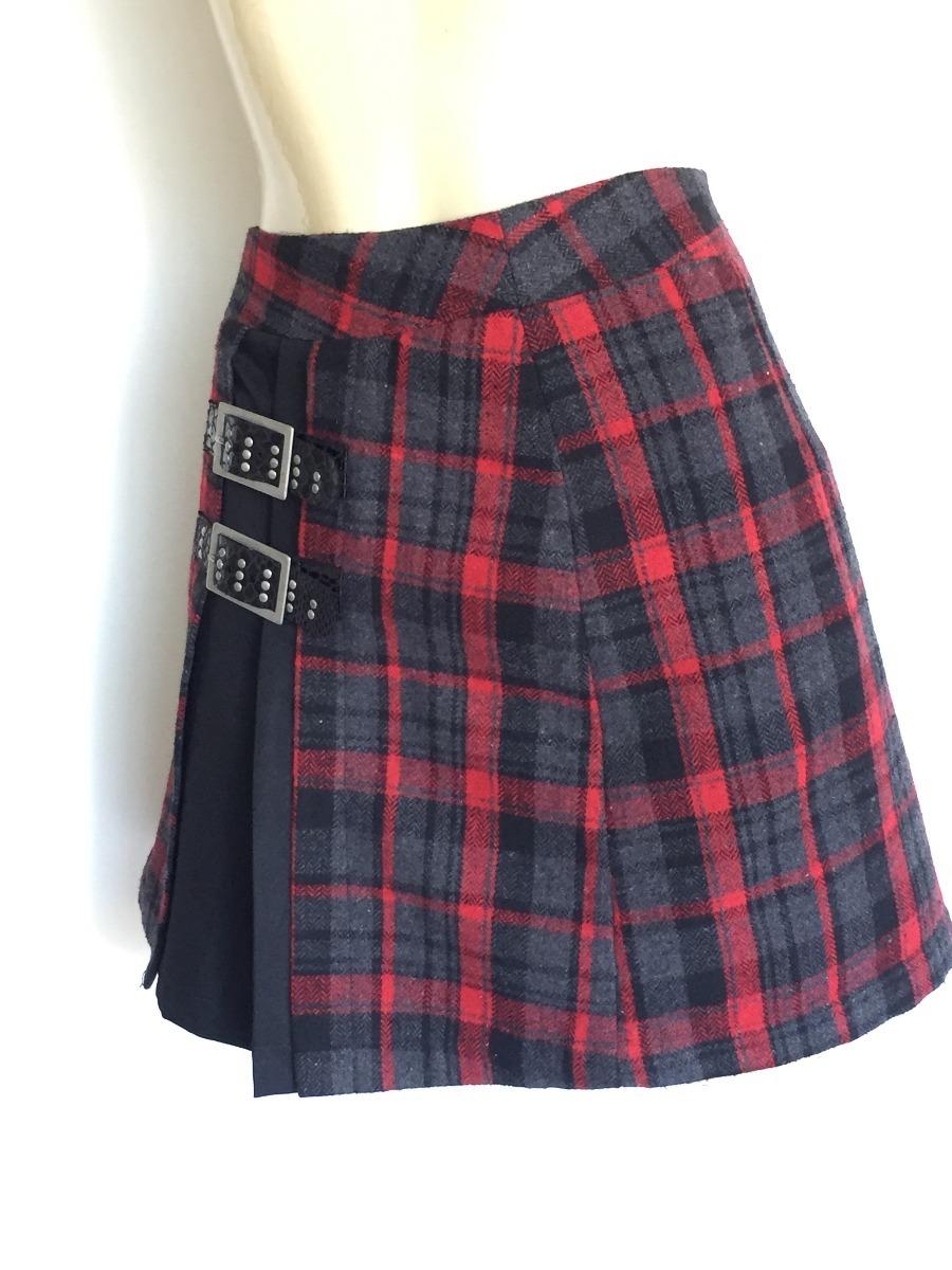 18f905ac63 Saia Curta Feminina Estilo Escocesa Marisa Tam.40 - R  40