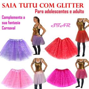 d51a06c4e8 Saia Tule Infantil Feminina Festa no Mercado Livre Brasil