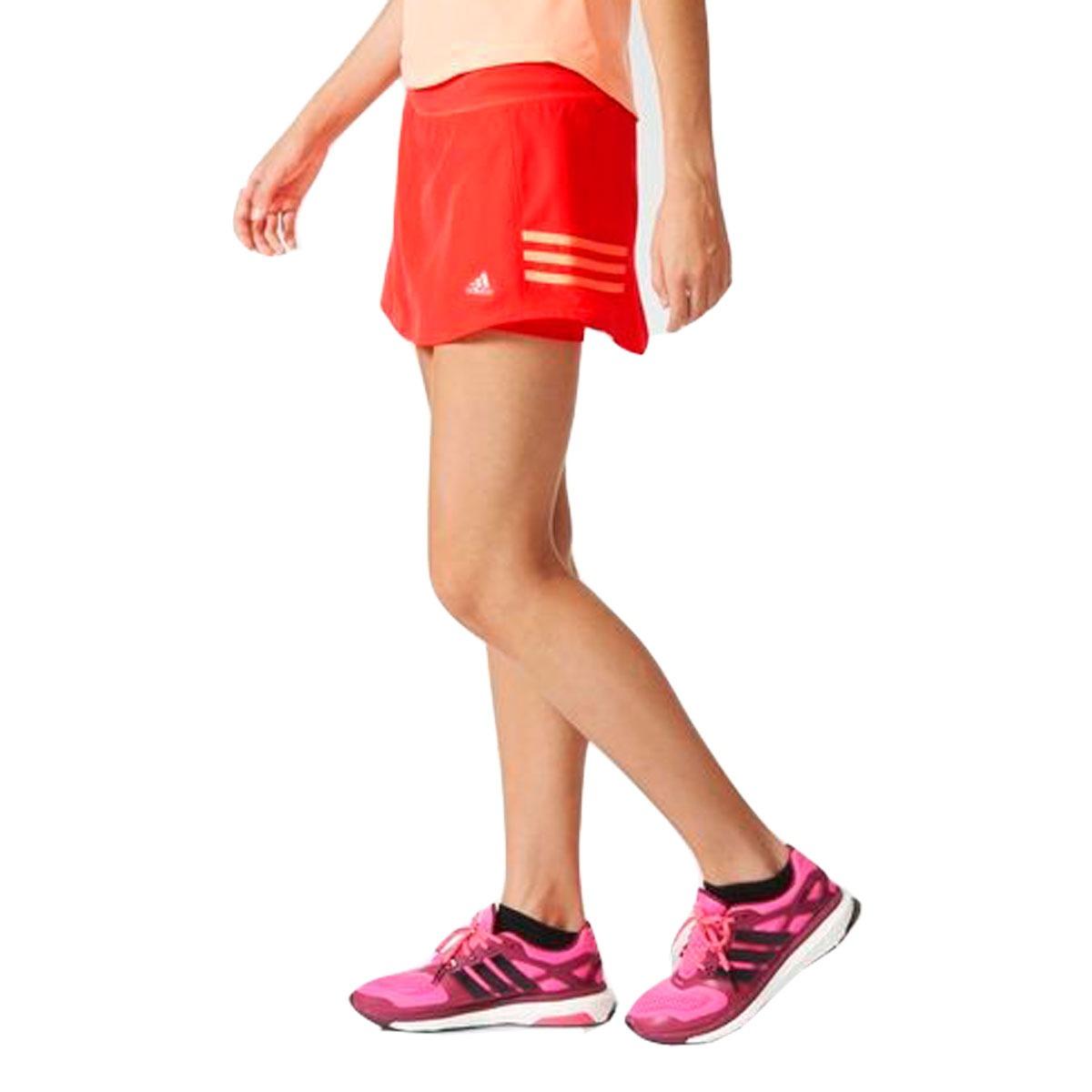 saia feminina de corrida adidas shorts interno esportiva. Carregando zoom. 70c7acb4e6aa0