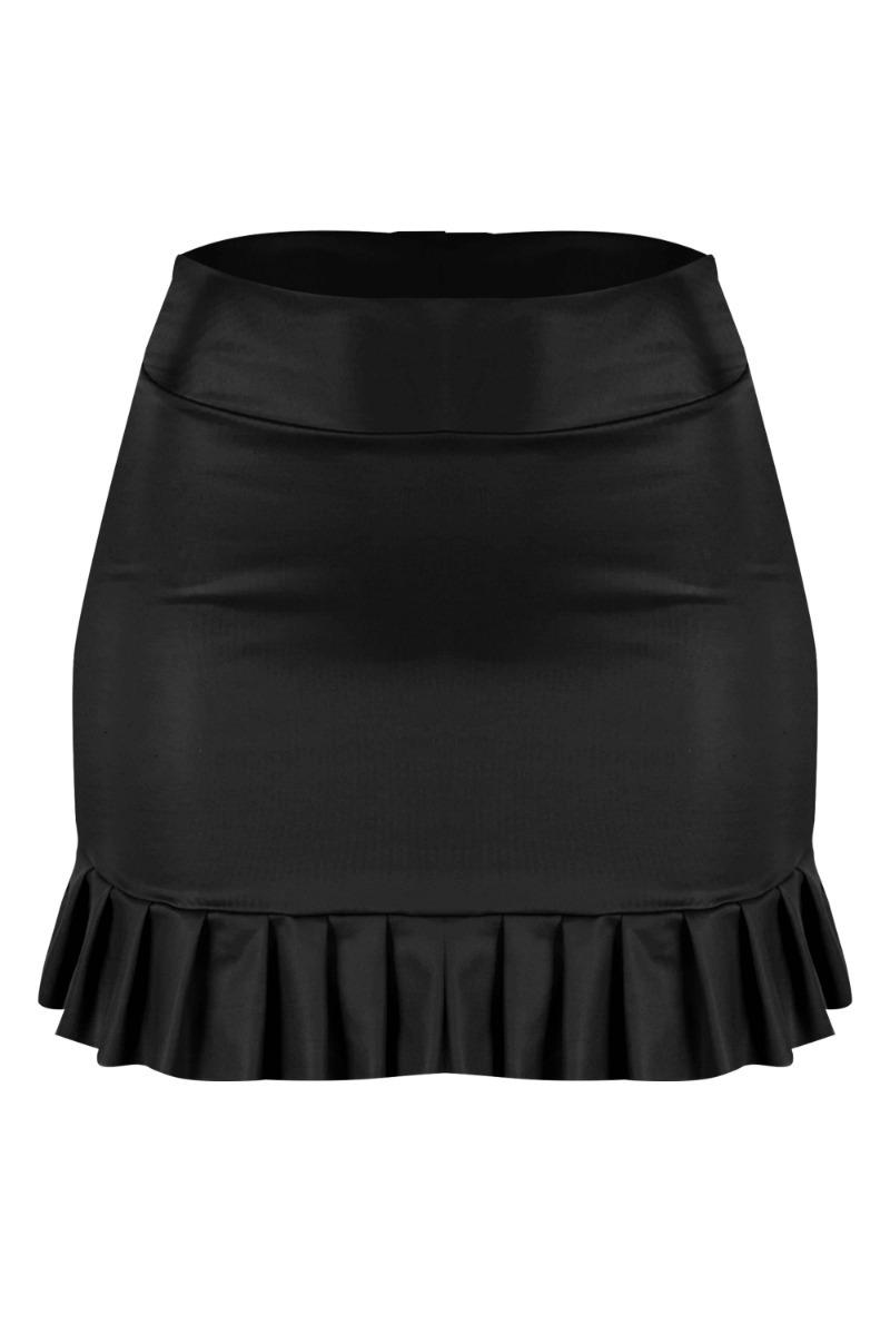 3fa1332f0d saia godê cirrê courino babado roupas femininas 2018. Carregando zoom.