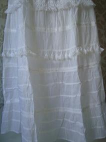 b7054014da Saias Indianas Brancas Algodao - Calçados